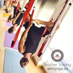 yogacreativo.com: Video Formación Profesores Yoga Aéreo by AeroYoga® International en Madrid #PilatesFrasesespanol #pilatesaereo