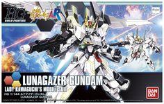 DENGEKI's REVIEW: HGBF 1/144 LUNAGAZER GUNDAM. Box Art, Images, Info Release http://www.gunjap.net/site/?p=317718