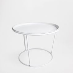 ROUND TABLE WITH A TRAY - Occasional Furniture - Bedroom | Zara Home United Kingdom