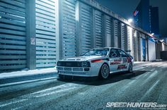 One Mental quattro? 487hp, quatto All-Wheel Drive, Lightweight Chassis, and Classic 80's Styling.. definitely mental.