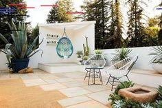 Poured Concrete Patio Design Decks Ideas For 2019 Modern Landscape Design, Modern Landscaping, Front Yard Landscaping, Backyard Patio, Landscaping Ideas, Patio Ideas, Backyard Ideas, Garden Ideas, Gravel Patio