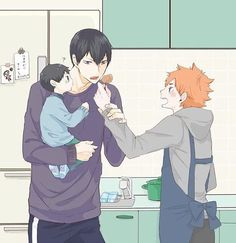 Oh my lordy, domestic Kagehina