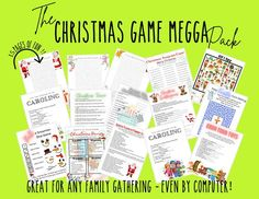 If you are like us - you have a large family and will not be getting together this year for the holidays. We are planning some holiday fun via ZOOM and using these same games to play with each other. There are games for adults and kids alike - even the teens can play - I bet they win the Chrismtas Christmas Trivia Games, Xmas Games, I Spy Games, Adult Games, Christmas Movies, Family Christmas, Games To Play, Family Game Night, Family Games