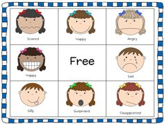 Current image intended for free printable pictures of emotions