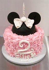 Bildergebnis für minnie mouse buttercream cake