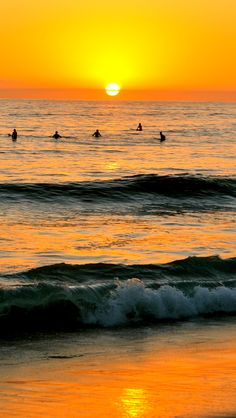 Carlsbad, CA. grew up on these beaches and those further south toward San Diego. Just as my father did as a boy, and my grandmother and great grandfather too. California Dreamin', Carlsbad California, Cardiff, Beautiful Sunset, Beautiful Places, San Diego, Summer Surf, Surf Trip, Ocean Beach