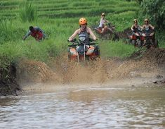 ATV Ride is Activity by offer a high quality of service of fun ATV Riding trips. Our experience Bali ATV Ride instructor will carry out a full safety briefing before riding through the cocoa plantation compound, Balinese villages, crossing back road tracks, rice terrace fields and take in the breathtaking views