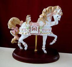 Lenox Wedding Dreams Carousel Horse Figurine 2003 | eBay