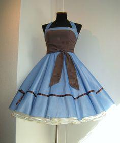 50er-Jahre-Kleid Lena von Schneiderei Heike Borchers auf DaWanda.com