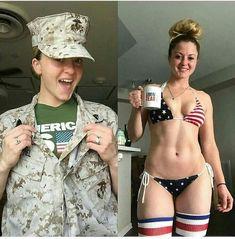 Brasilianischer Bikini, Military Girl, Female Soldier, Military Women, Girls Uniforms, Triangle Bikini, Sexy Hot Girls, Looking For Women, Amazing Women