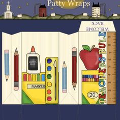 Patty Wraps: Welcome Back School Treat Bag