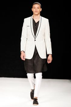 Spencer Hart @ London Collections: Men Spring/Summer 2014 | SAMUEL JING