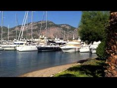 General information on Gocek Turkey, marinas, islands and beaches. Things to do in Gocek town. Stuff To Do, Things To Do, Water, Beaches, Outdoor Decor, Islands, Sailing, November, Turkey
