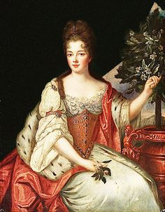 Louise Bénédicte de Bourbon, Duchess of Maine, by Pierre Gobert (c. 1690)