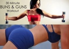 Diary of a Fit Mommy: 30 Minute Buns & Guns At-Home Workout