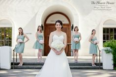 Blush and mint wedding by www.theflowerhouse.com