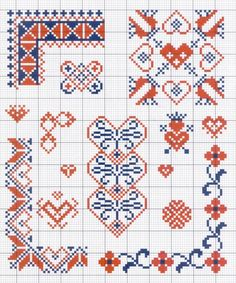 Gallery.ru / Фото #48 - Motif scandinaves traditionnel - Mongia