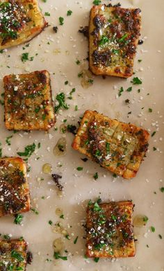 Hasselback Waffle-Cut Potatoes - Moribyan Potato Dishes, Potato Recipes, Vegan Recipes, Cooking Recipes, Veggie Dishes, Vegetable Recipes, Vegan Food, Side Dish Recipes, Side Dishes