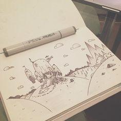 Doodles • II By Daniel Padilha Sao Paulo, Brazil on Behance |  Drawing |  Illustration |  Street Art | Doodles | Sketch | Ilustração | Sketchbook