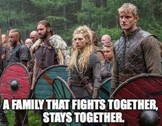 """She's the glue that keeps the Lothbrok clan together. 