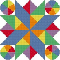 Summer Heat cross stitch pattern.