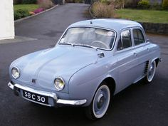 Renault Dauphine  My Dad had one of these that he kept till it became yard art in 2000