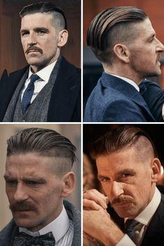 Mens Hairstyles Fade, Cool Hairstyles For Men, Boys Long Hairstyles, Undercut Hairstyles, Cool Haircuts, Haircuts For Men, Beard Haircut, Fade Haircut, Peaky Blinders