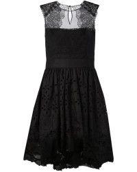 Alberta Ferretti Sleeveless Embroidery Dress - Lyst