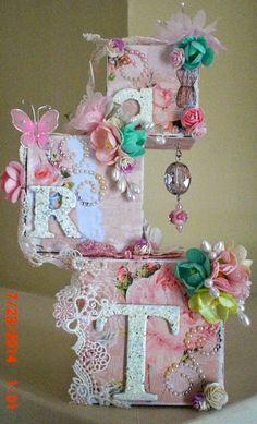 Gina's Designs Artist Trading Blocks by Brigitte