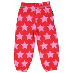 1550a00bdce714 Red Star Bubble Pants - ittikid • Scandinavian Children's Clothes -  Scandinavian Baby and Kids Clothes | Organic Eco Friendly Kids Clothes from  Smafolk, ...