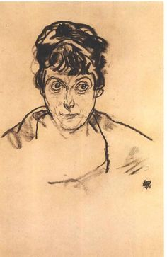 Egon Schiele (1890 – 1918) - Portrait of the Woman, 1918