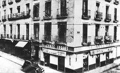 El primer El Corté Inglés 1940, Madrid, c/ Preciados).