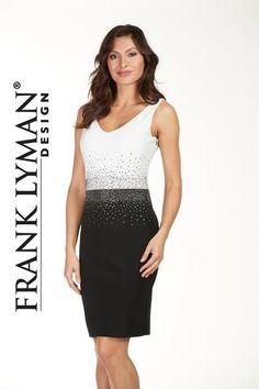 Frank Lyman Design. Gorgeous sequin cocktail dress. Proudly Canadian Made.