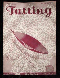 Vintage Tatting Pattern Book / 1930s DIY Lacemaking / by Filamenti