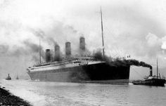 Titanic in Belfast Lough