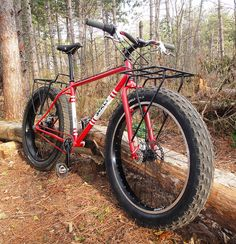 Fat bike surly pugsly transportation: for when the fuels runs out. Fat Bike, Camping Survival, Survival Prepping, Survival Gear, Camping Tools, Outdoor Life, Outdoor Gear, Outdoor Toys, Bicycle Painting