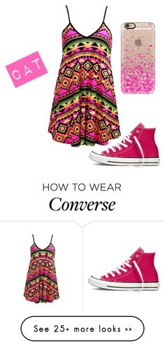 """""""Hanging Out"""" by a-directioner-in-the-5sosfam on Polyvore featuring Converse, Casetify and formystory"""