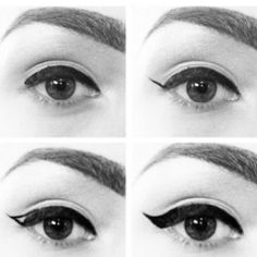 Winged liner *