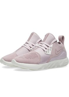 The coolest sneakers to wear in the winter: Nike Womens Lunarcharge Premium In Iced Lilac