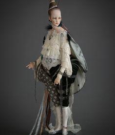 Светлячок Неон. Авторская кукла Алисы Филипповой