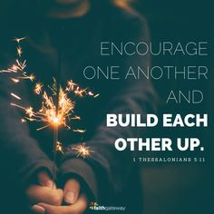 Encouragement: build each other up - Tap the link to shop on our official online store! You can also join our affiliate and/or rewards programs for FREE!