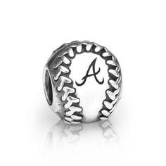 Atlanta Braves Pandora Baseball Charm - $75.00