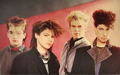 pseudoecho - Google Search Loved this Aussie band in the 80's . And I loved their hair styles !!! This was the hip hair style of 1984!!
