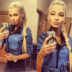 Jelly. Wished I looked liked the beautiful Alena Shishkova!