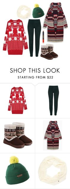 """""""Snow play"""" by perpetto ❤ liked on Polyvore featuring WithChic, Amanda Wakeley, Mountain Khakis, Vans and Lipstick Queen"""