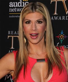 Alexis Bellino Long Straight Hairstyle.