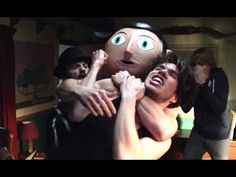 Frank Official Clip #1 (HD) Michael Fassbender, Comedy