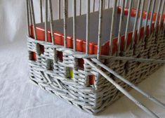 Полный Плетение корзин из газетных трубочек пошагово для начинающих (90+Фото). Как начать и завершить?