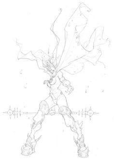 Rackham | Confrontation/Rag'Narok - Ophidian Alliance | Edouard Guiton Fantasy Character Design, Character Design Inspiration, Character Concept, Character Art, Concept Art, Art Sketches, Art Drawings, Fantasy Characters, Cool Artwork