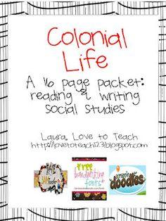 Colonial Life Worksheets - Checks Worksheet